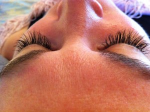 extreme lashes after photo